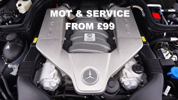 MOT & Service from Just £99.00